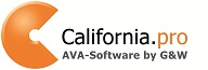 California.pro | AVA-Software by G&W